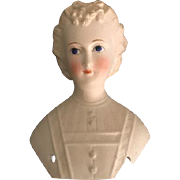 Antique Parian Type Countess Dagmar Style Doll Head