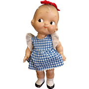 Vintage Composition Campbell Kid Doll 12""