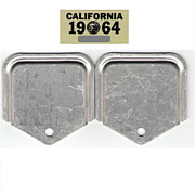 Old 1964 California Sticker with YOM Attachments