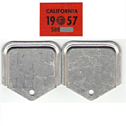 California Sticker YOM 1957