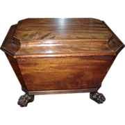 Early 19th c. Regency Mahogany Wine Cellarette 1820