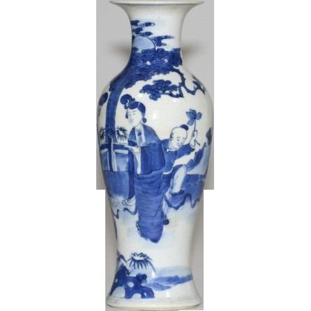 Blue And White China Vase Zef Jam