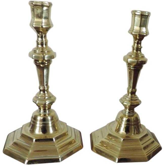 Brass Candlesticks  Trying to find help with dating them