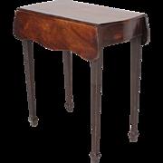 Antique 18th century Georgian Mahogany Diminutive Pembroke Side Table