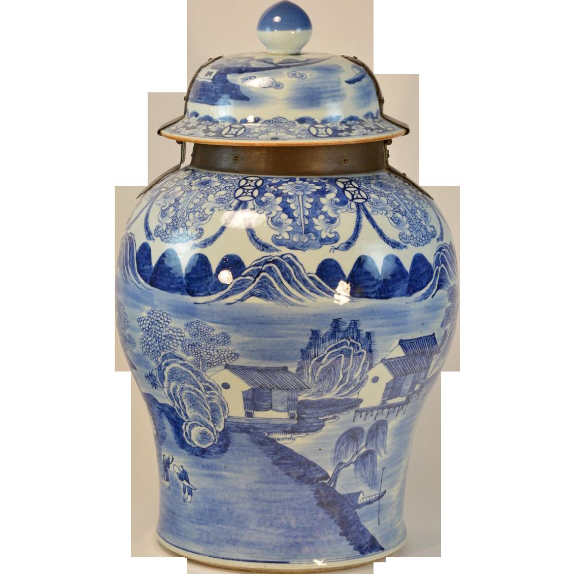 Giant Century Chinese Blue Amp White Porcelain Palace