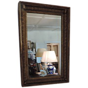 Antique Early 19th century American Federal Gilt Pier Mirror in the Empire Taste 1820