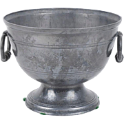 Antique 18th century French Pewter Footed Bowl