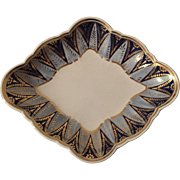 Antique Early 19th century Wedgwood Pearlware Diamond Shaped Dish