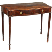 American Federal Serpentine Mahogany Dressing Table 1800 - 1810 School of William Hook - Salem, Massachusetts