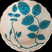 Antique 19th century English Minton Porcelain Blind Earl Plate