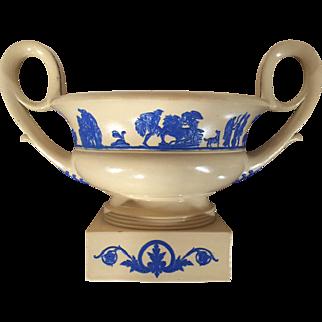 Large Antique Early 19th century Wedgwood Neoclassical Vase Urn of Greek Kantharos Shape