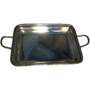Large, Fine & Rare English George III Sterling Silver Entree Dish or Tray by John Edwards III London 1800