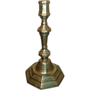 Antique 18th century French Brass Candlestick