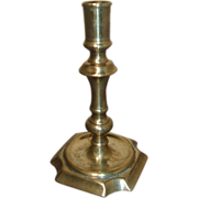 Fine 18th century English Brass Candlestick
