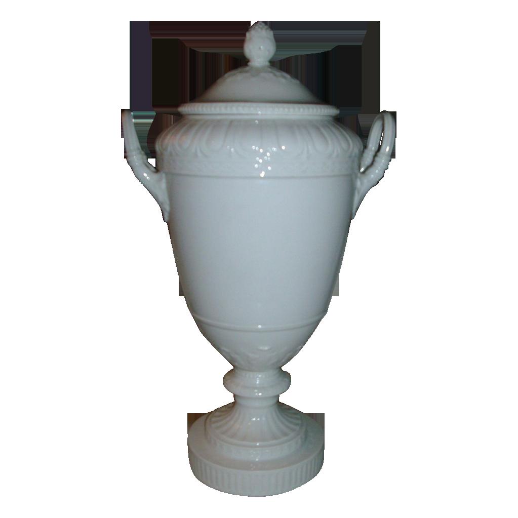antique kpm berlin blanc de chine porcelain urn and cover. Black Bedroom Furniture Sets. Home Design Ideas