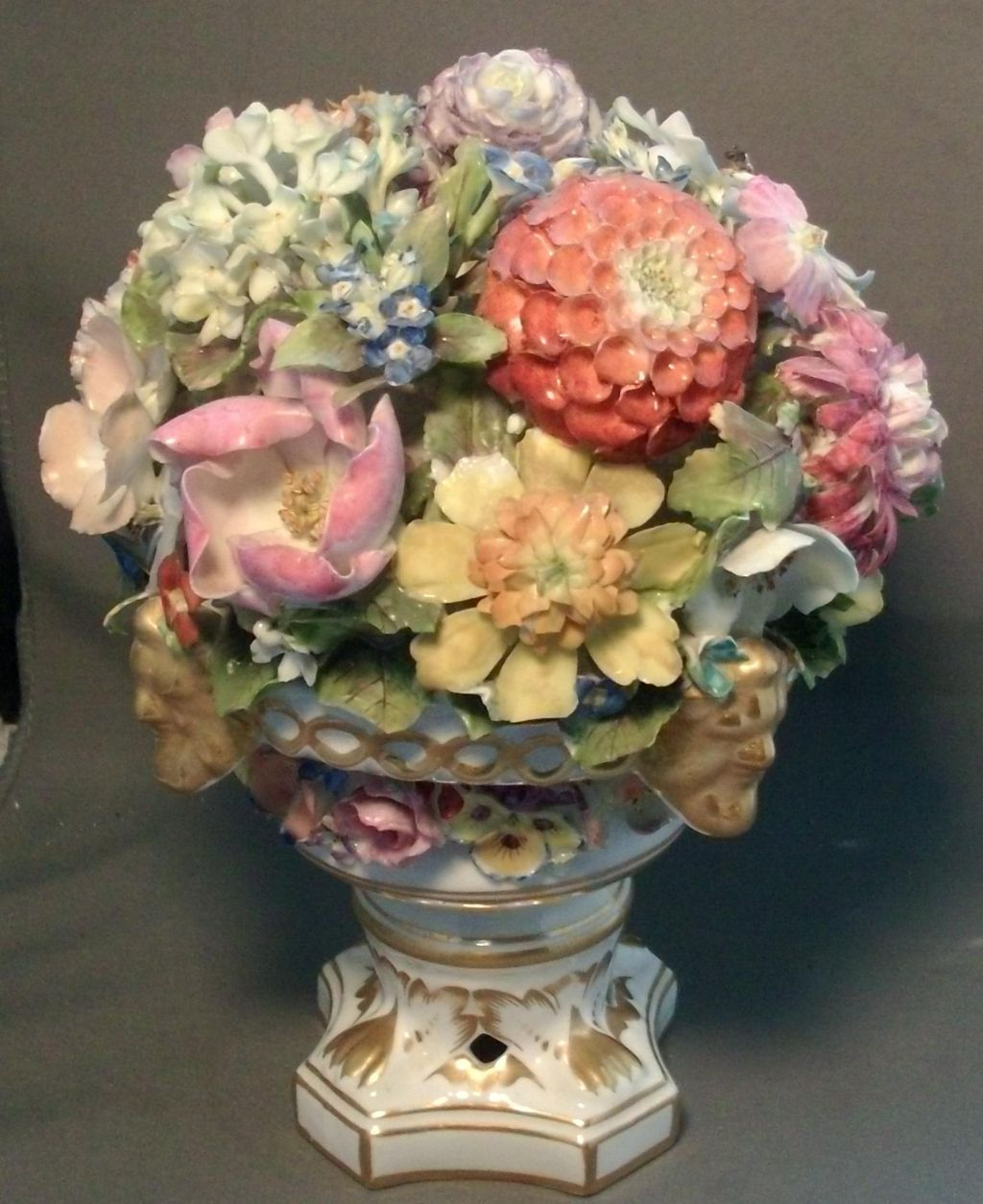 Large Early 19th Century English Regency Derby Porcelain