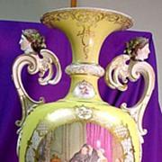 Stunning!...Monumental KPM Palace Vase