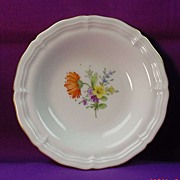 Small Hoechst Plate (20yrs)...handpainted flowers