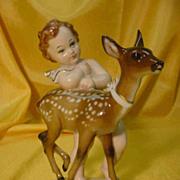 ROSENTHAL Figure/Figurine...Child w/ Fawn