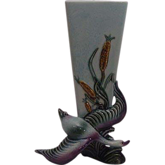 Hull  Flying Goose  Bud Vase 1950's