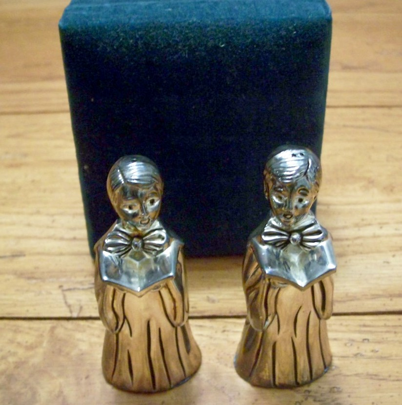 Choir Boys Salt and Pepper by Godinger Silver Art