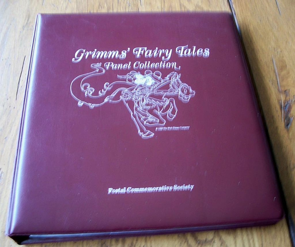 Postal Commemorative Society  Disney  Stamps Book