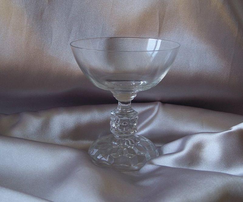 Fostoria American Crystal  Lady Sherbet
