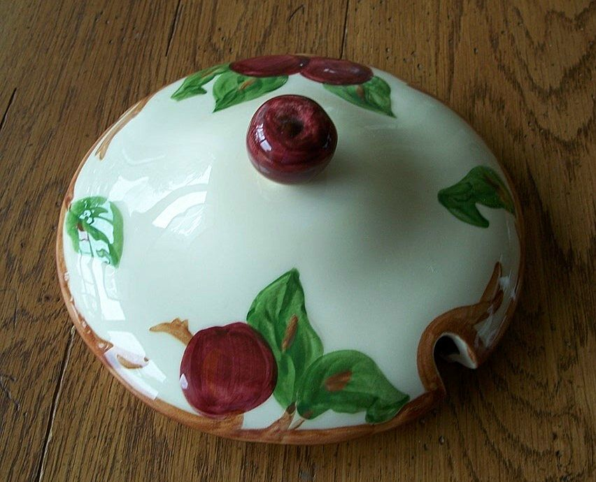 Franciscan Pottery Apple Tureen Lid