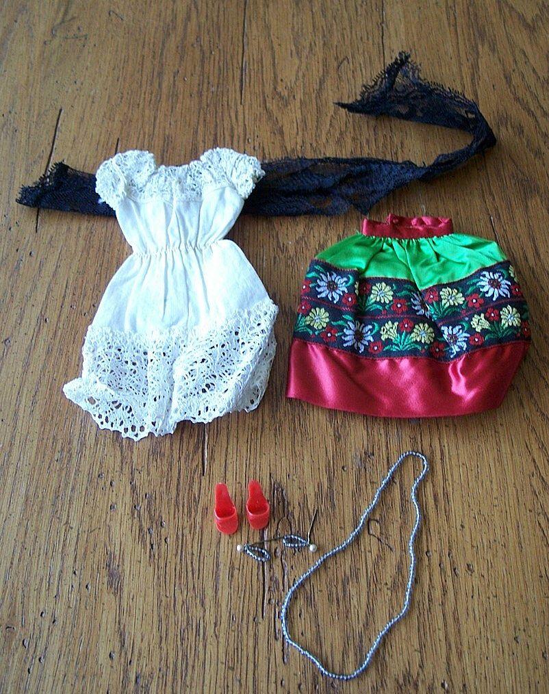 """Barbie """" Mexico""""  Fashion #820 1964"""