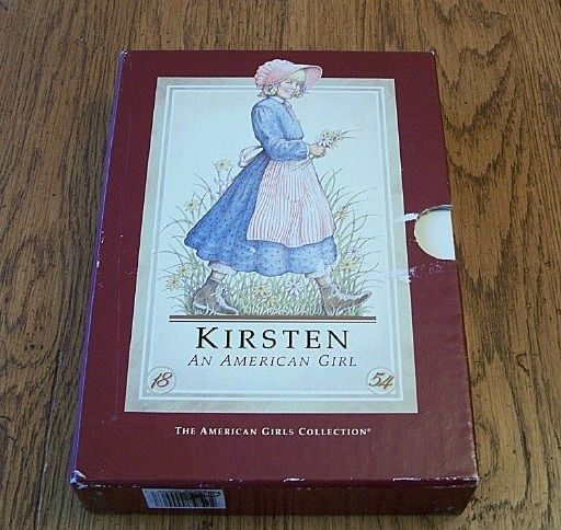 An American Girl Kirsten Books Box Set