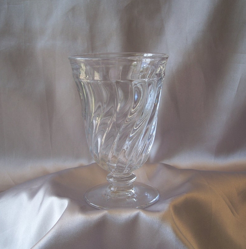 Fostoria Glass Crystal Colony  Water Goblet