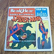Spider-Man Read and Hear Book and Record
