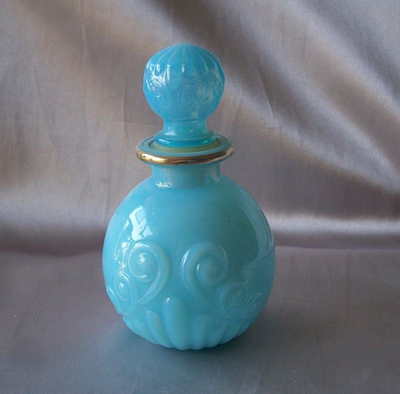 Avon Bristol Blue Cologne Bottle