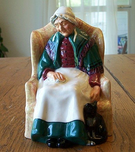 Royal Doulton HN 1974 Forty Winks Figurine