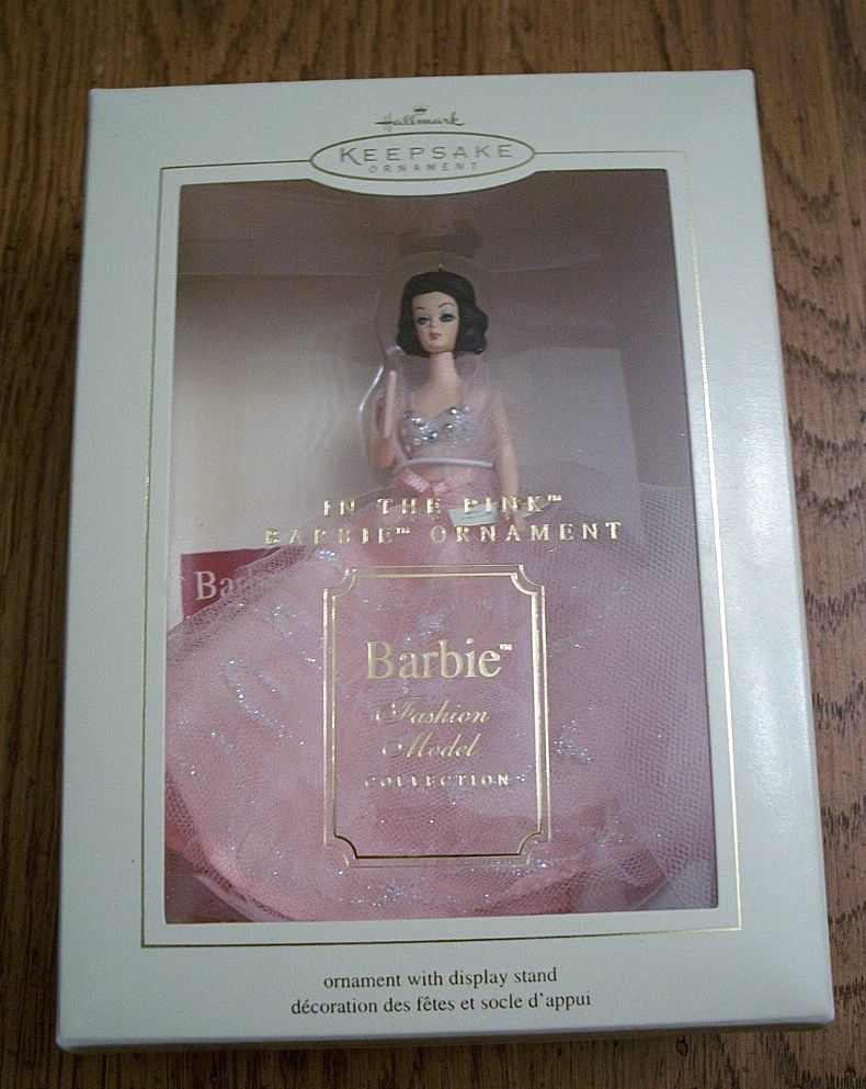 Hallmark Keepsake In The Pink Barbie Christmas Ornament