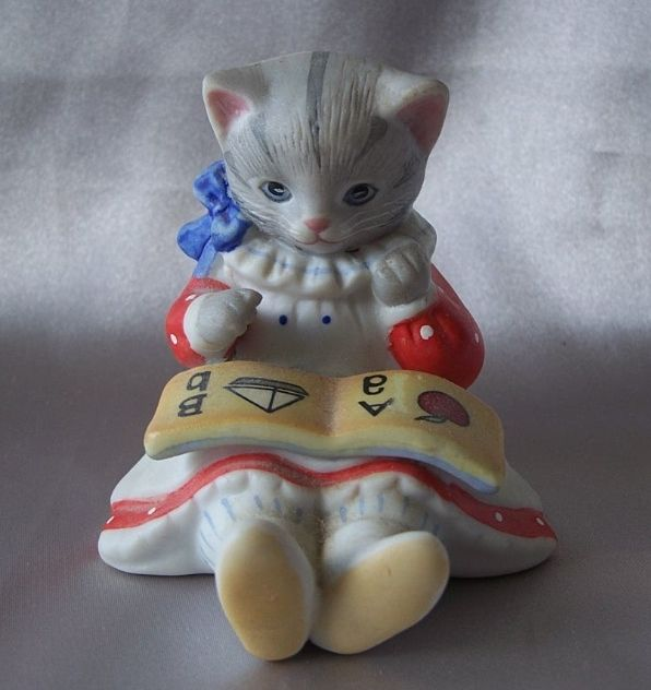 Kitty Cucumber  Figurine By Schmid
