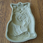 Brown Bag Cookie Art Cat