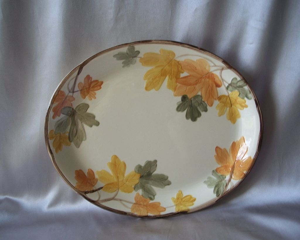 Franciscan October Serving Platter USA