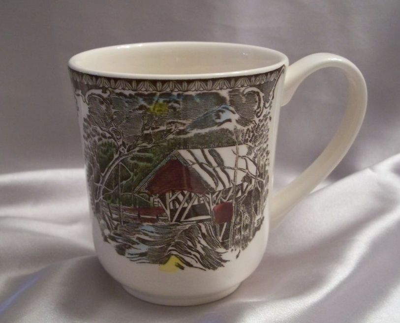 Johnson Bros. Friendly Village Coffee Mug