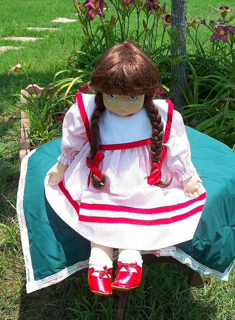 Pauline Bjonness Jacobsen Cloth Doll