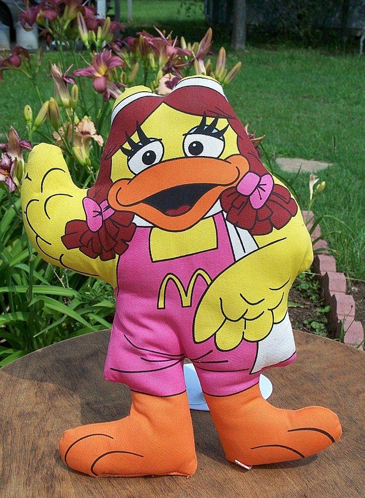 McDonald Birdie Stuffed Pillow Doll 1987