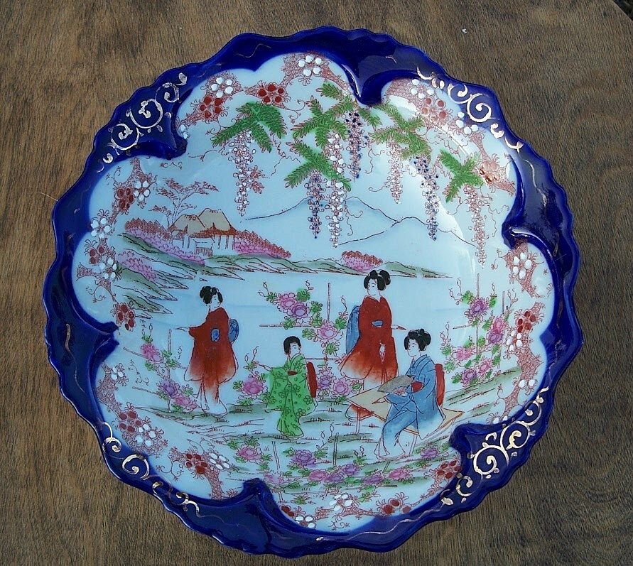 Vintage Japanese Ceramic Bowl Japan