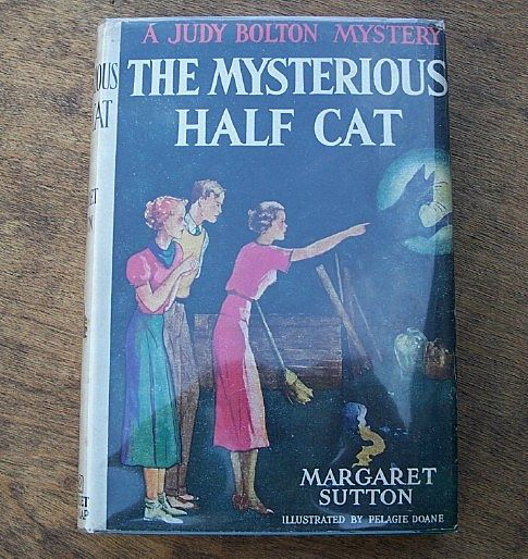 Judy Bolton Mystery The Mysterious Half Cat