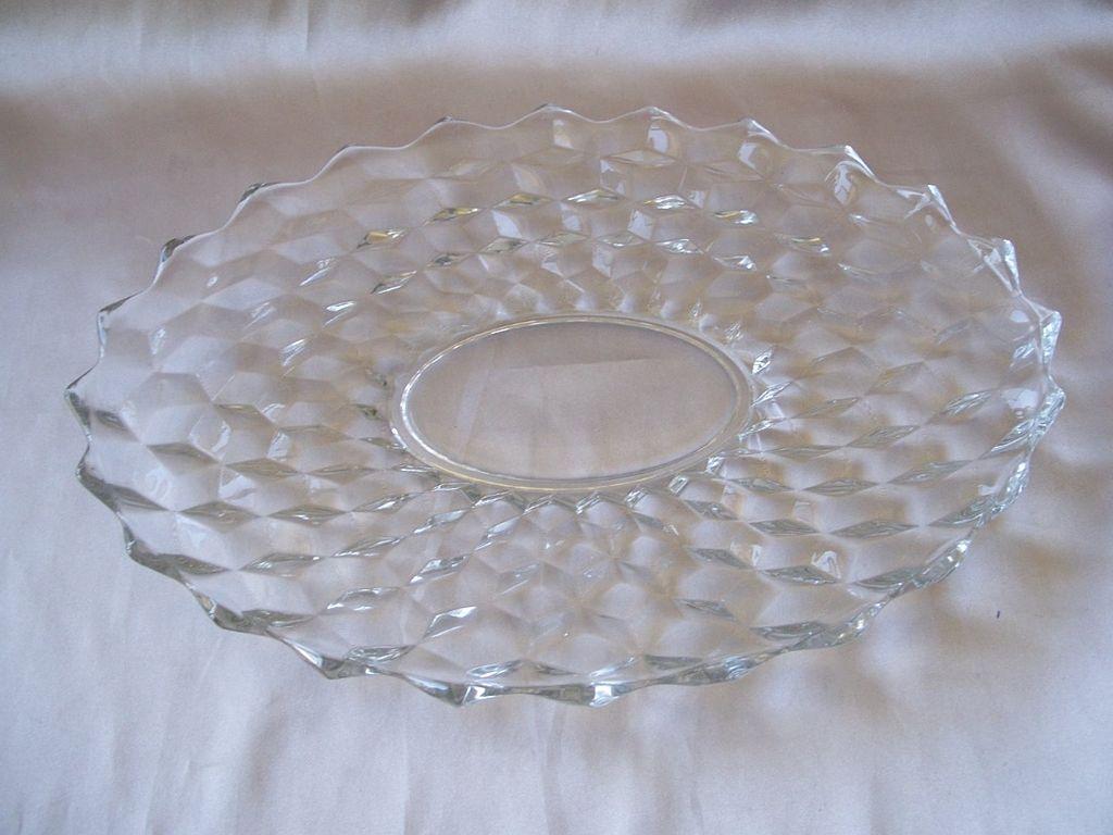 Vintage American  Fostoria Oval Platter