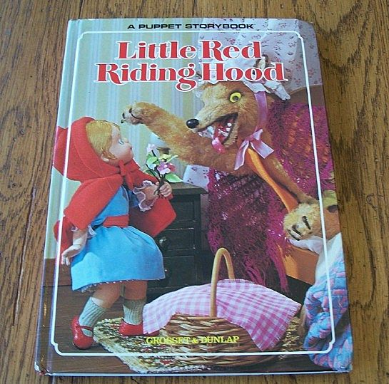 A Puppet Storybook Little Red Riding Hood