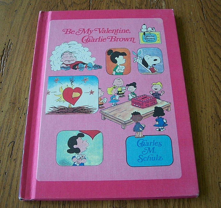 Be My Valentine Charlie Brown By Charles Schulz