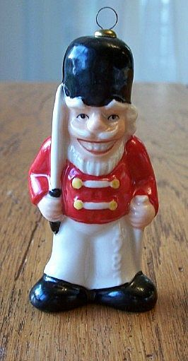 Christmas Ornament 1981Goebel  Annual  Nutcracker