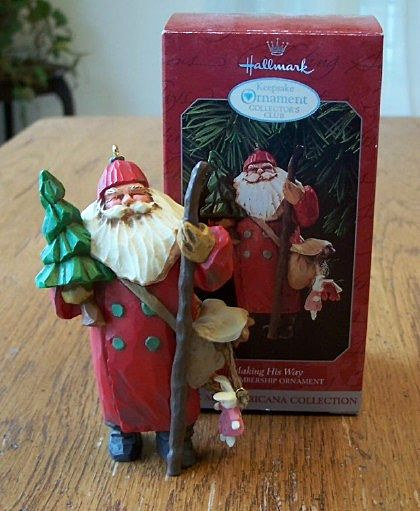 Hallmark Keepsake Ornament Making His Way  1998