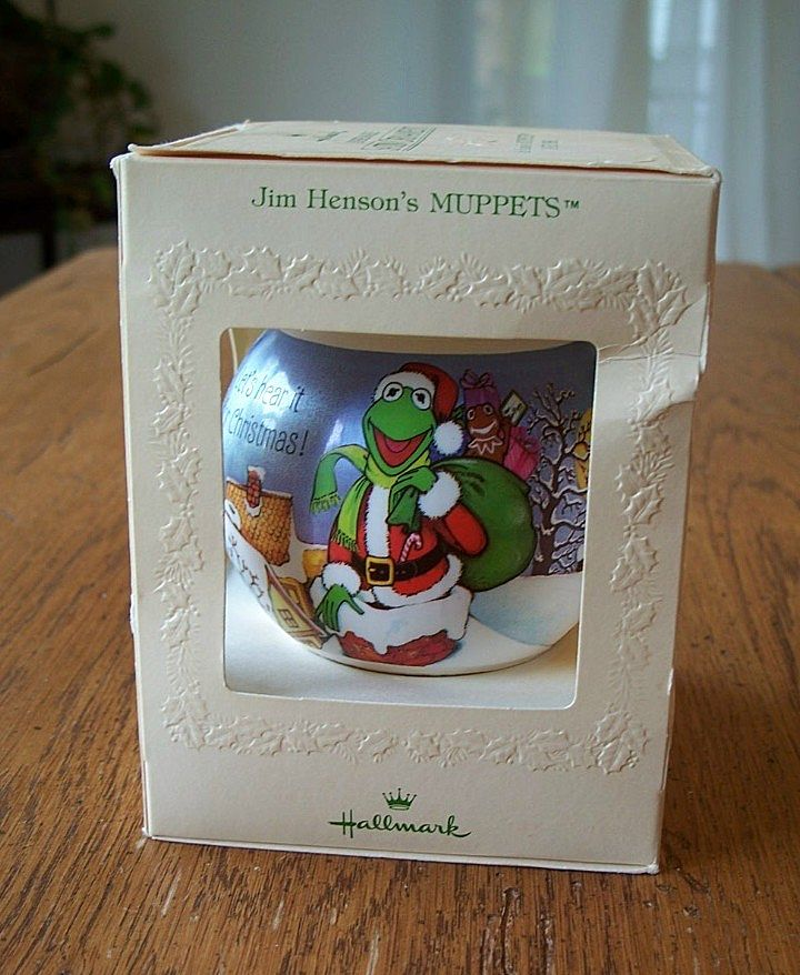 Hallmark Satin Ornament Muppets 1981