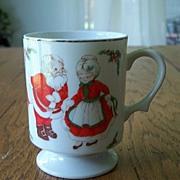 Vintage Santa Claus Christmas Coffee Mug